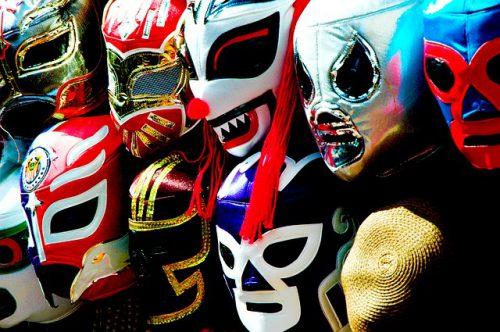 メキシコの覆面、ルチャ・リブレ、マスク