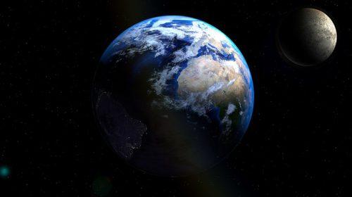 宇宙の中の地球